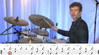"VIP Lessons with Joe Crabtree: ""Shadows In The Rain"" Intro Groove"