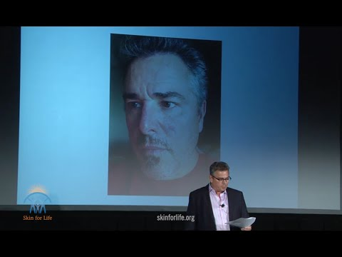 Christopher Knight speaks at Skin for Life 2015