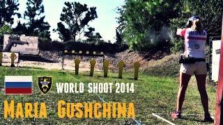 maria gushchina ipsc world shoot 2014 shoot off