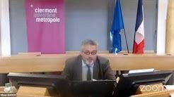 Conseil métropolitain du 20 Mai 2020 à 09h - Clermont- Auvergne- Métropole