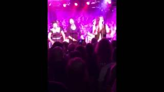 Paul Stanley from KISS and Soul Station covering Jackson 5 @ the roxy Hollywood CA 9-11-2015