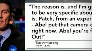 AOL CEO fires employee on conference call