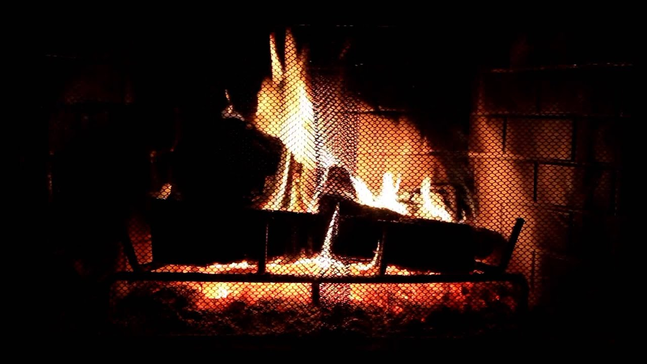 virtual fireplace with relaxing jazz blues music hd youtube