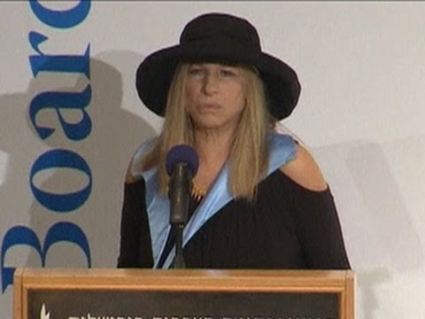 Barbra Streisand speaks out on treatment of women in Israel