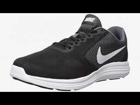 bb5f8ffdc9 Must See Shoe Review 2018! NIKE Men's Revolution 4 Running Shoe, Black/White-Anthracite,  12 Regul.