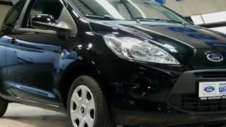 Ford Ka Trend 2011 Disco-Schwarz-Metallic Start-Stopp LTRUAA43706 www.autohaus.biz/autohaus-wissmann