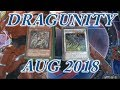 YUGIOH NEW SUPPORT Dragunity AUGUST 2018