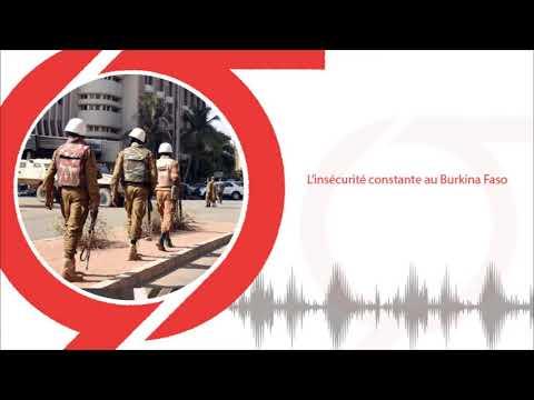 L'insécurité constante au Burkina Faso