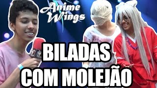 CELLBITS DIVIDINDO O ANIME WINGS TERCEIRA EDIÇÃO - Tv Corujão Entrevista