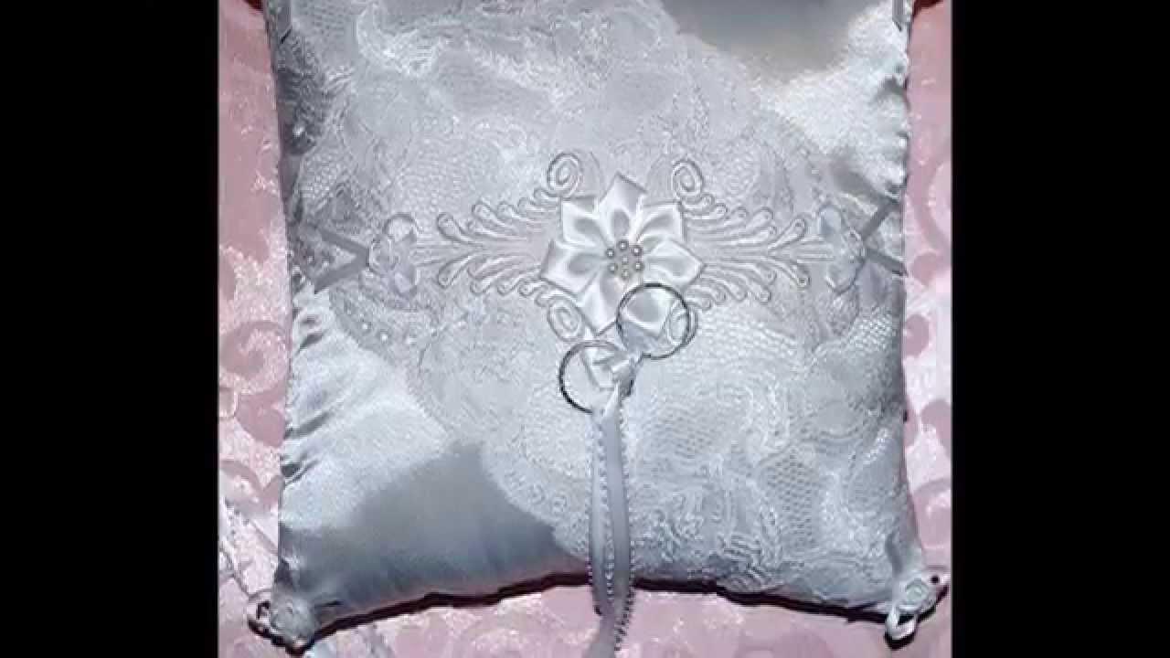 Wedding Ring Bearer Pillows YouTube