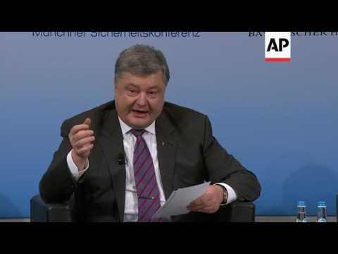 Poroshenko, McCain, Johnson on Ukraine conflict
