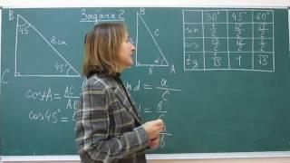 Математика это просто. Синус и косинус.