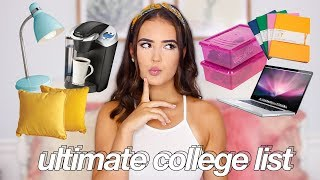 What To Bring (And NOT Bring) To College! | Reese Regan