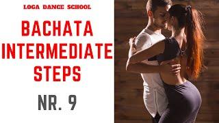 Learn Bachata Dance: Intermediate Steps #9 at Loga Dance School