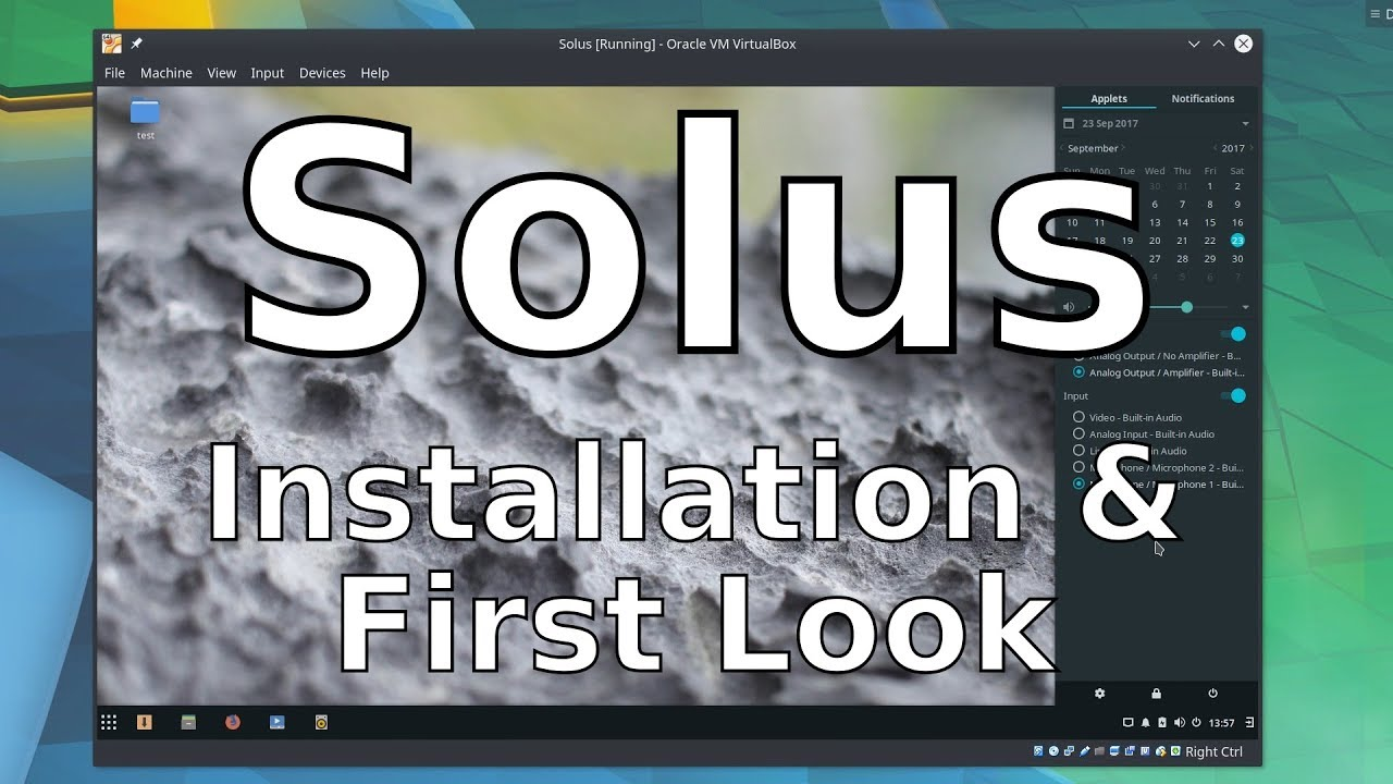 Solus 3 Budgie - Installation & Impressions