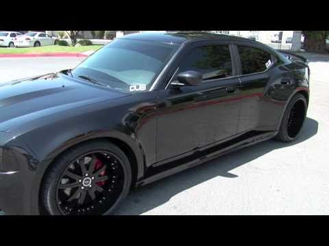Front And Rear Widebody Dodge Charger Srt8 Youtube