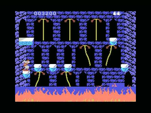 Dragon's Lair for ColecoVision SGM - published by Team Pixelboy - running  on openMSX