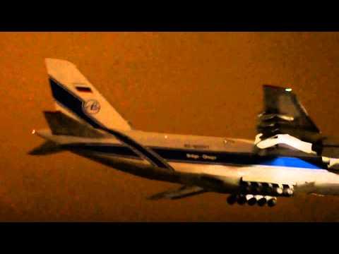 ан-124 руслан видео