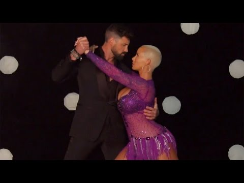 Download EXCLUSIVE: Amber Rose Reveals Best Things About 'Dancing With the Stars' Partner Maksim Chmerkovs…