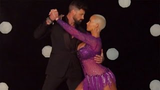 exclusive amber rose reveals best things about dancing with the stars partner maksim chmerkovs…