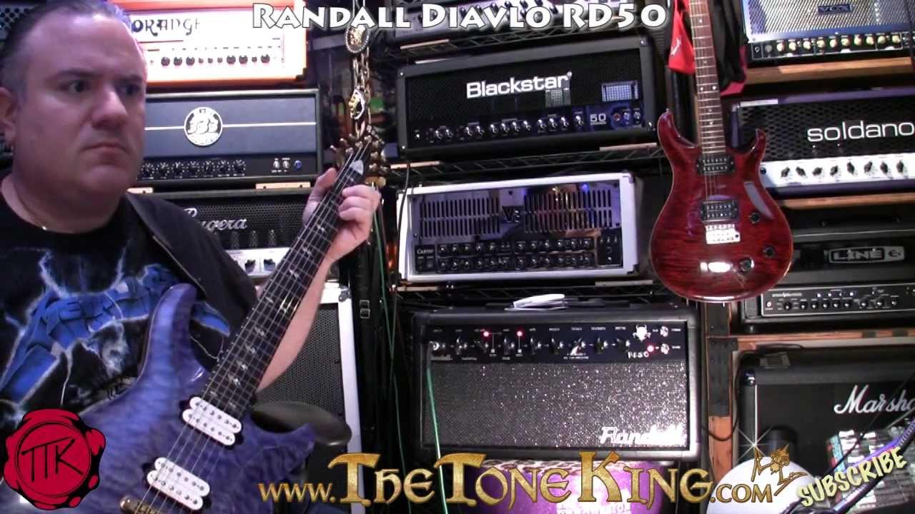 Randall Diavlo RD50 Demo & Review ~ Using Ed Roman Quicksilver