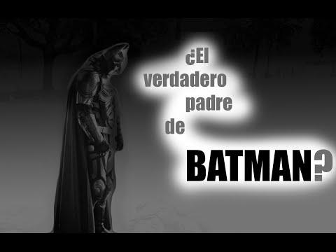 ¿El verdadero padre de Batman?