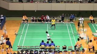 2013年 全国高等学校選抜大会 男子団体 準々決勝・S1 清水(比叡山) vs 小本(八代東)