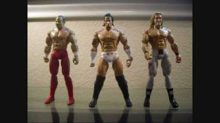 WWE Deluxe Aggression 3 Pack: Chavo, Edge, and CM Punk Review.