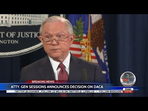 President Trump ENDS DACA: FULL  Announcement by Jeff Sessions