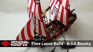 Lego Time Lapse - Brick Bounty Pirate Ship