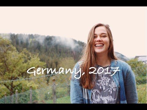 Germany 2017 Travel Diary