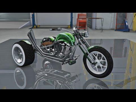 Nagasaki Chimera CUSTOMIZATION & TEST - Grand Theft Auto V ONLINE BIKER DLC