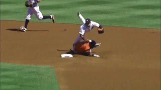 【MLB】超絶技巧遊撃手 ホセ・イグレシアス好プレー集