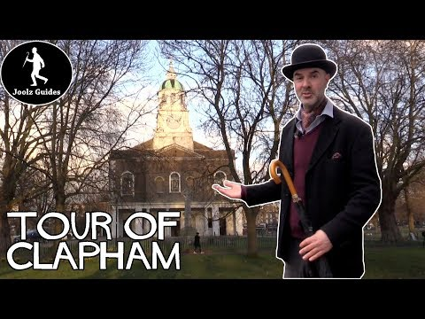 London Clapham Walking Tour