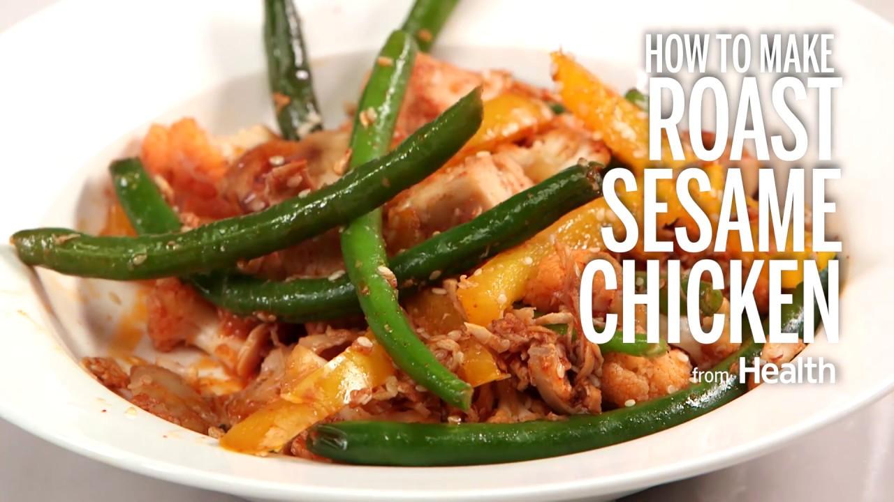 how to make homemade sesame chicken