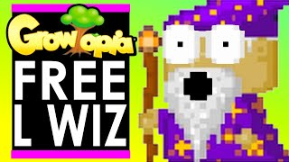 LEGEND gives PCATS *FREE L WIZ* in Growtopia!