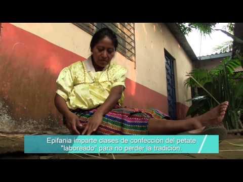 El petate de labor - Nahuizalco - El Salvador
