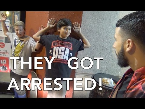 THEY GOT ARRESTED!!!