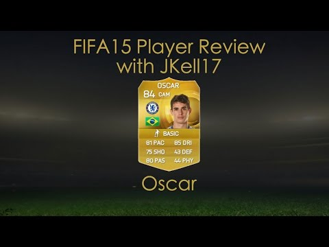 FIFA 15 ULTIMATE TEAM PLAYER REVIEW - OSCAR 84 CHELSEA