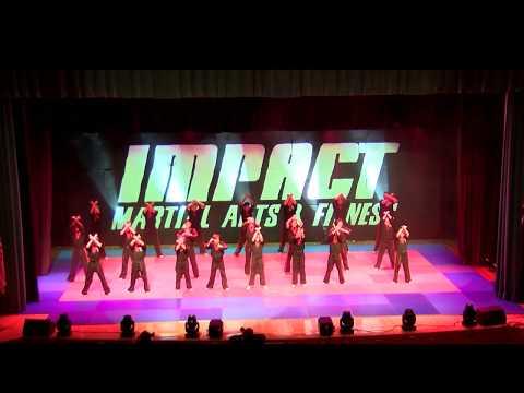 Impact Martial Arts Karate Black Belt Graduation Show