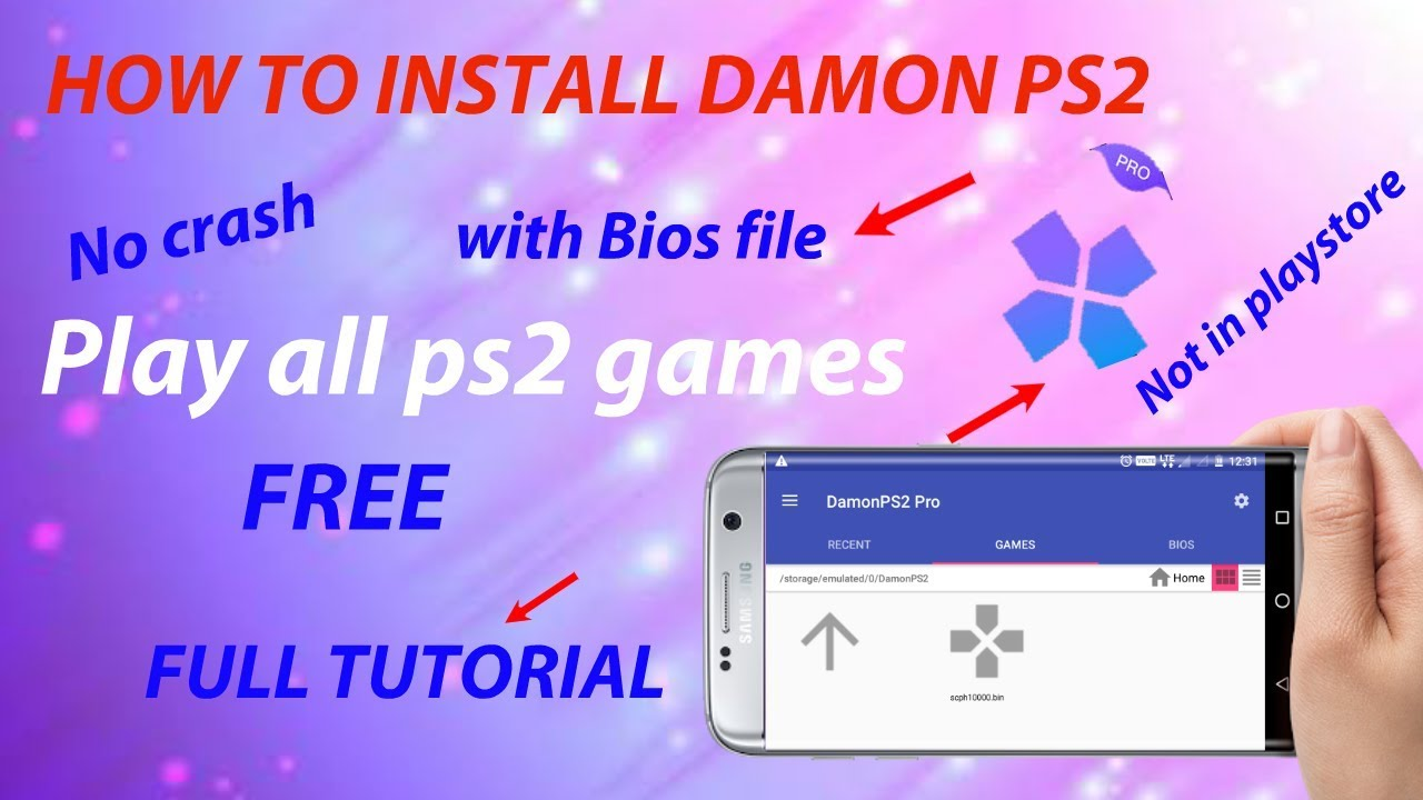 demon ps2 emulator bios download for android