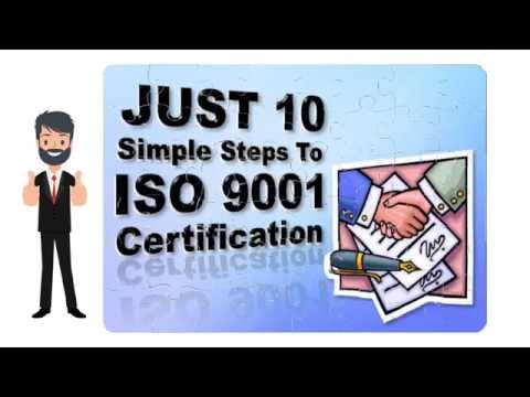 ISO Certification Process - ISO 9001 Made Easy