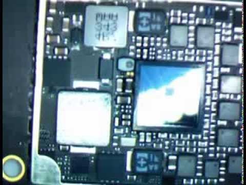 ipad mini 2 retina display logicboard A7 processor ponent location HD soldering microscope