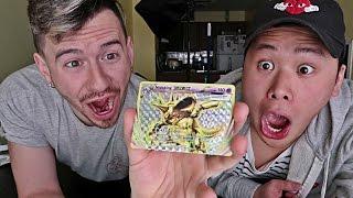 POKEMON CARD CHALLENGE!! W/ DAVIDPARODY