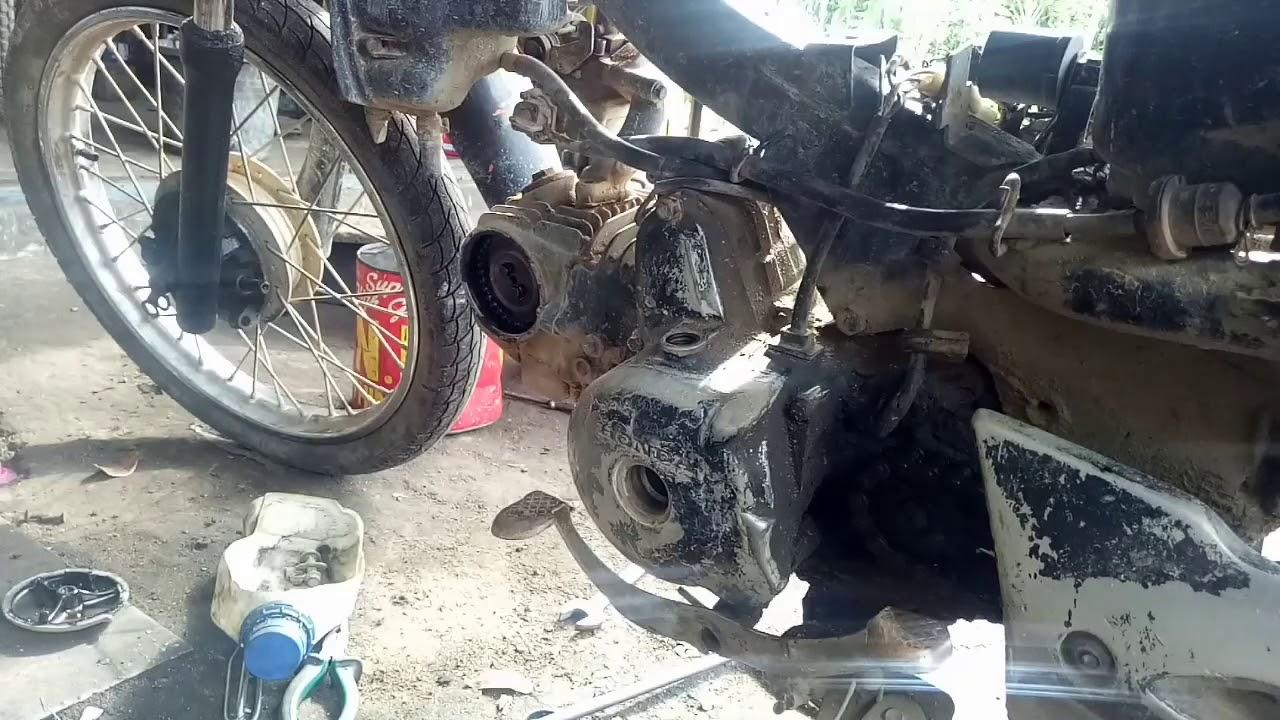 Garap supra fit ngebul motor harian