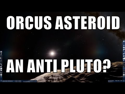 90482 Orcus - Pluto's Mirror Image - Universe Sandbox 2