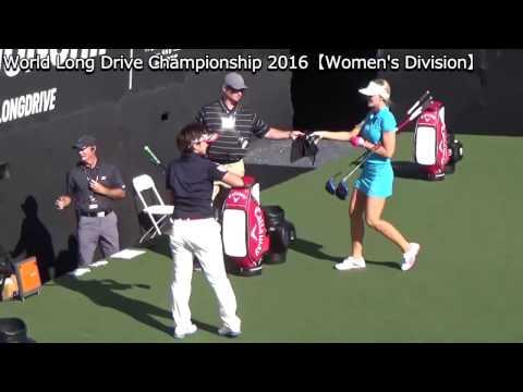 World Long Drive Championship 2016  Final 8 【Women's Division】