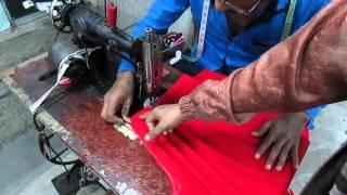 How to Make Dhoti Patiala Salwar part 5 of 7 hindi