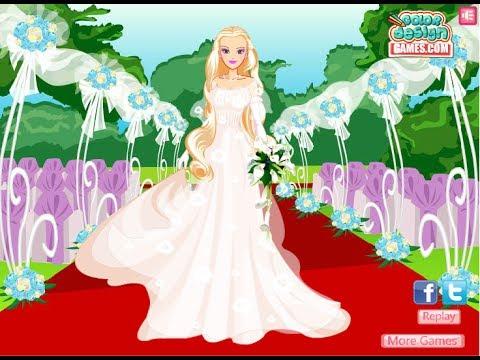 barbie wedding dress up games free