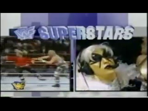 The Stalker Barry Windham vs The Goon WWF 1996